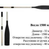 Весло 1500 см.