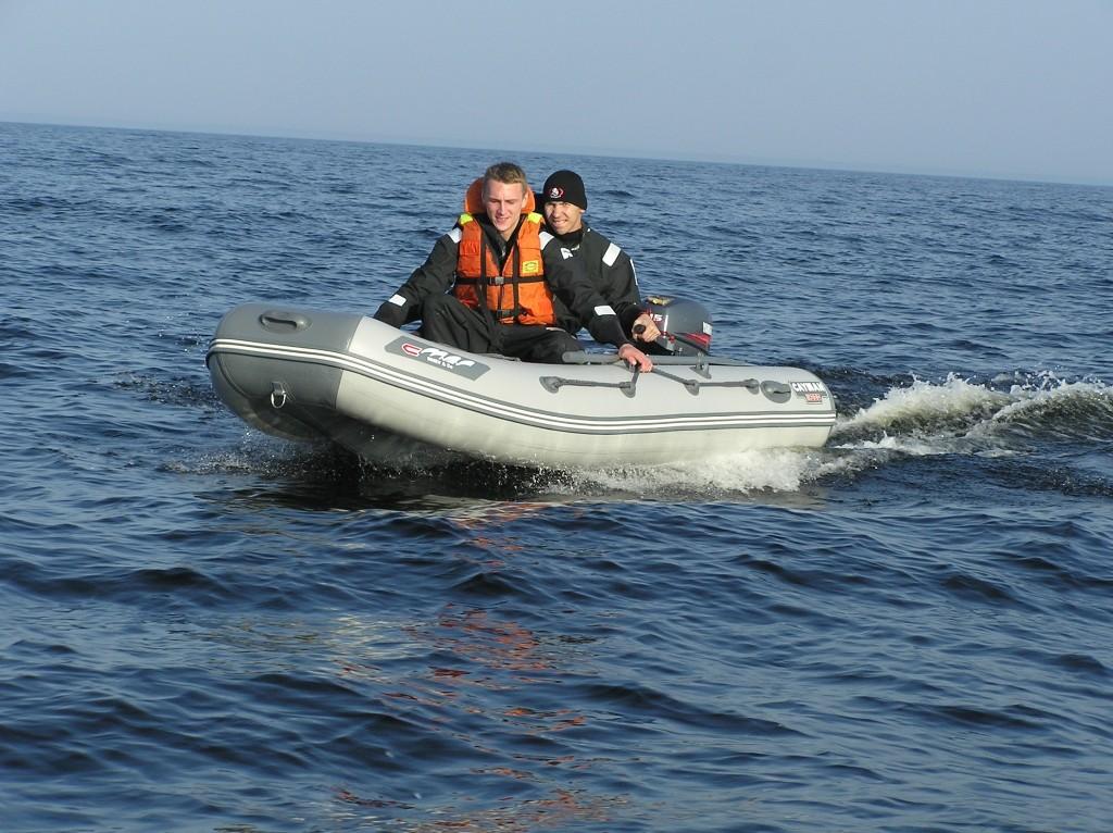 тюнинг лодок из пвх кайман